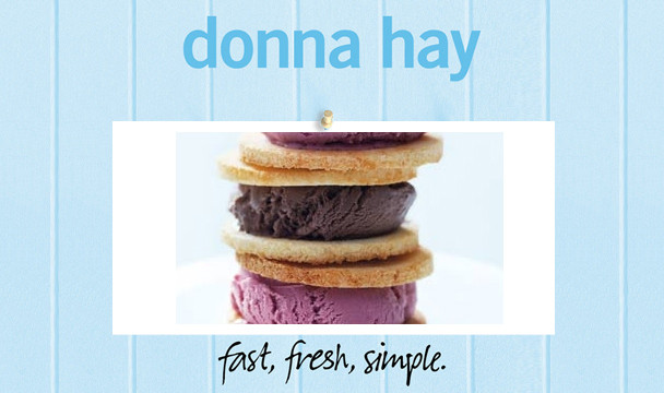 Coconut Macaron Ice-cream Sandwiches : Donna Hay Fast Fresh Simple ...