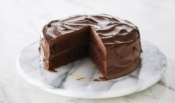 Classic Devil's Food Cake : Bake with Anna Olson : The Home Channel