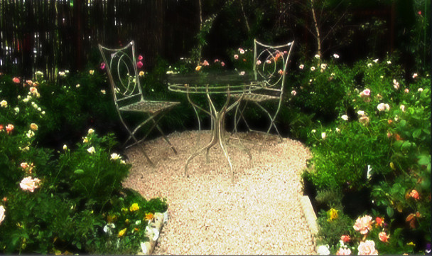 Rose garden design a garden the home channel Home channel gardening