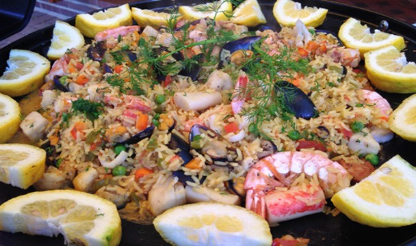 Paella on the skottel competition gallery the home channel forumfinder Image collections