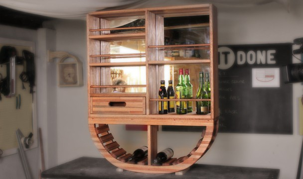 Bar Cabinet : Competitions : The Home Channel