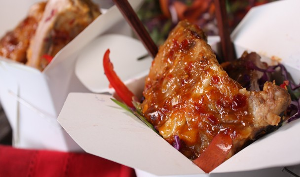 Fishy ribs with asian slaw competitions the home channel forumfinder Image collections
