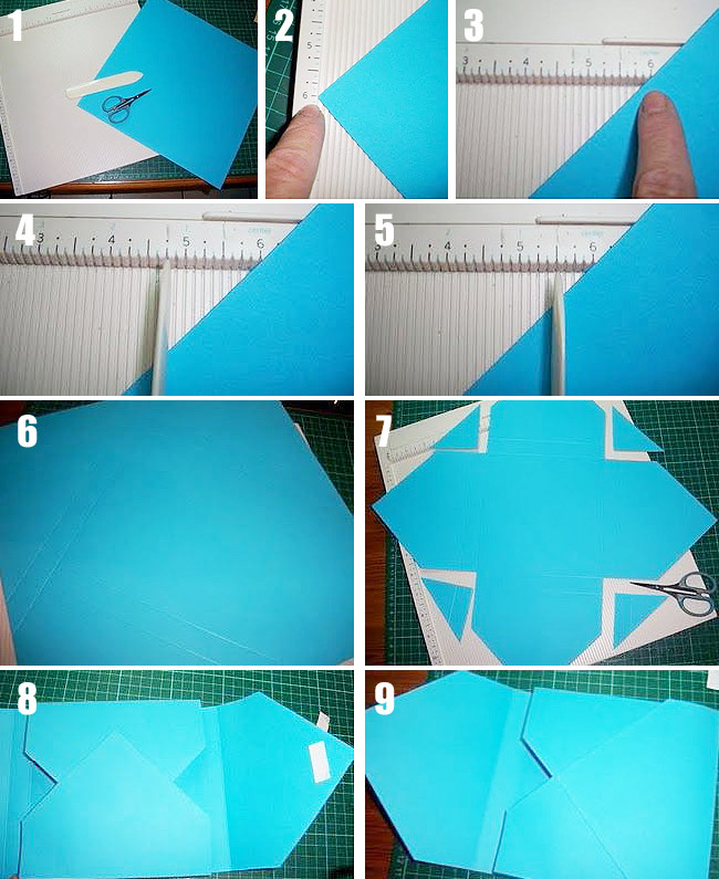 how to make envelopes out of cardstock