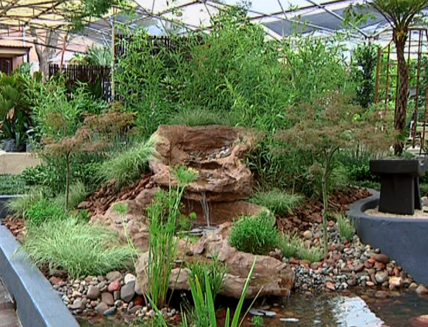 Merveilleux Garden Design With Water Garden U MIZU TO KOPISHI : Gardening : The Home  Channel With