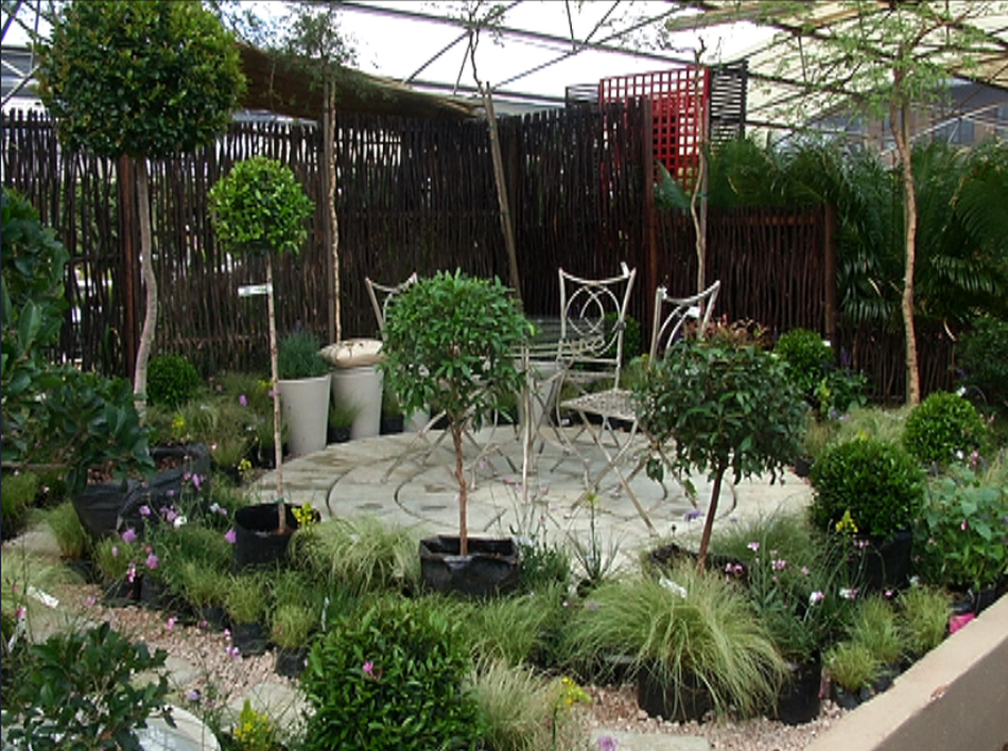 Courtyard garden gardening the home channel for Courtyard garden ideas
