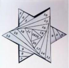 Открытка звезда на 23 февраля айрис фолдинг пошаговая инструкция