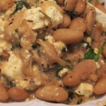 Butter Beans with Feta