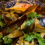 Citrus Infused Mussels