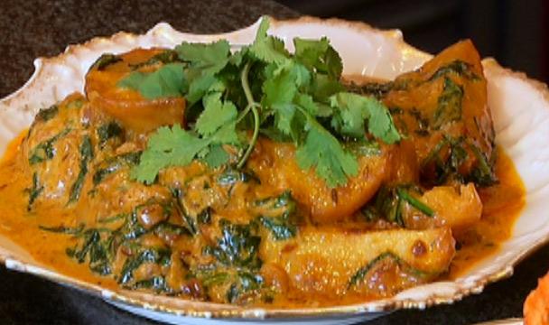 "http://www.thehomechannel.co.za/creamy-potato-and-spinach/"">Creamy Potato and Spinach"