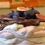 Chocolate and Fig Pavlova