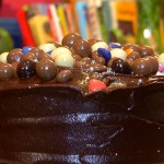Willie wonka Style Chocolate Cake