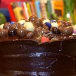 Willie wonka Style Chocolate Cake