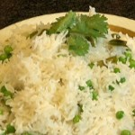 Pea and Coconut Rice