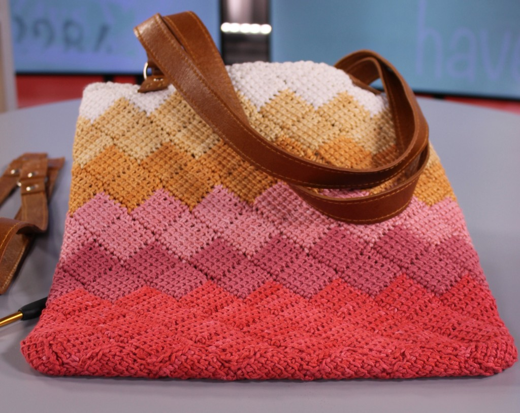Tunisian Crochet Bag Competitions The Home Channel