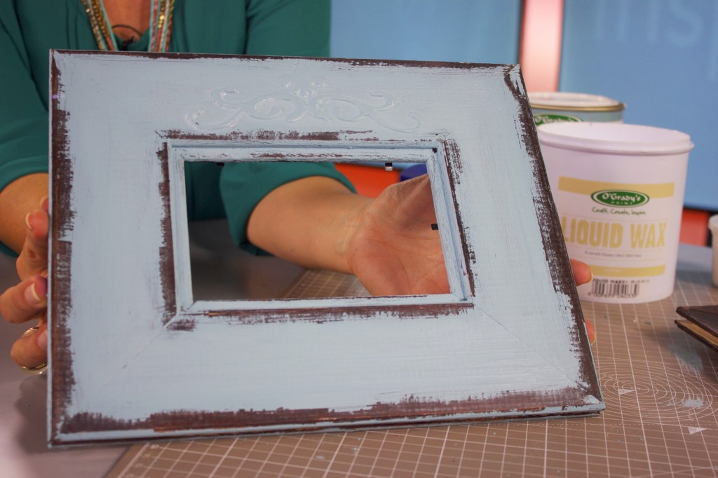 Distressed Wooden Frame : Competitions : The Home Channel