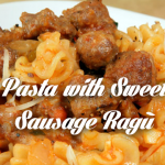 Pasta with Sweet Sausage Ragu : Cooking with Nick Stellino : The Home ...
