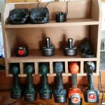 "LESLIE SALES Attached herewith a photo of my DIY home project which is a ""Cordless Drill Storage & Charging station Cabinet"" and would like to enter the current competition advertised on the Home Channel."